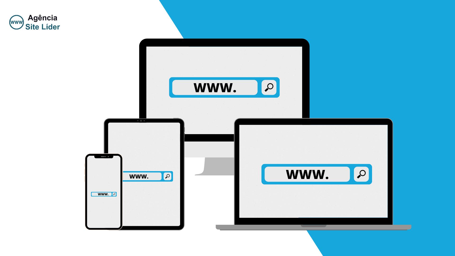 Como escolher o domínio para meu site